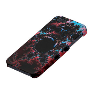 Devil's Dance - red and blue fractal art iPhone 5/5S Covers