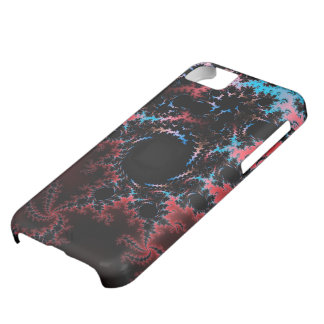 Devil's Dance - red and blue fractal art iPhone 5C Case