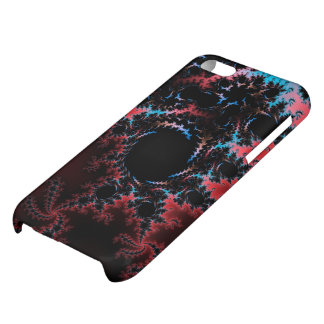 Devil's Dance - red and blue fractal art iPhone 5C Cases