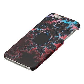 Devil's Dance - red and blue fractal art iPhone 6 Plus Case