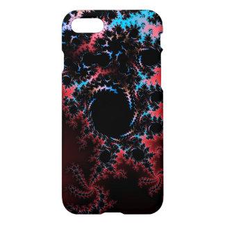 Devil's Dance - red and blue fractal art iPhone 7 Case
