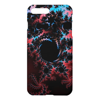 Devil's Dance - red and blue fractal art iPhone 7 Plus Case