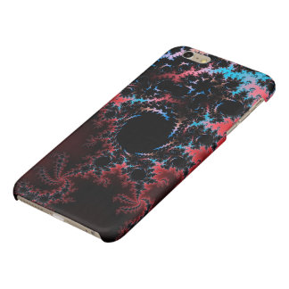 Devil's Dance - red and blue fractal art iPhone 6 Plus Case