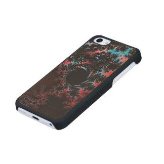 Devil's Dance - red and blue fractal art Maple iPhone 5C Case
