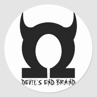 Devil's End Stuff Round Sticker