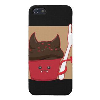 Devils Food Cupcake iPhone 5/5S Cases