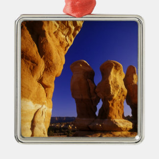 Devils Garden in the Grand Staircase Escalante Christmas Ornament