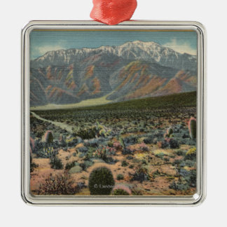 Devil's Garden View of Mt. San Jacinto # 1 Christmas Ornament