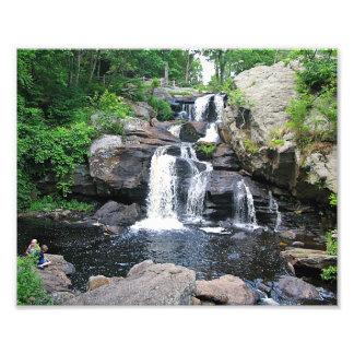 Devil's Hopyard Waterfall Photo print
