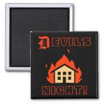 DEVIL'S NIGHT - DETROIT FRIDGE MAGNETS