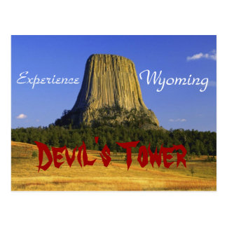 Devil's Rock, Wyoming Postcard