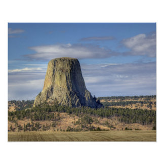 Devils Tower National Monument 3 Poster