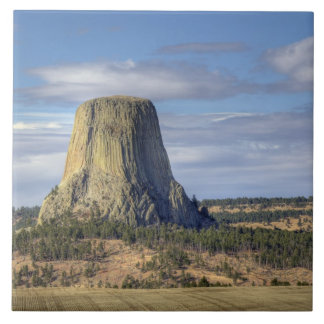 Devils Tower National Monument 3 Tile