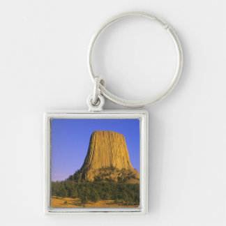 Devils Tower National Monument in Wyoming Key Ring