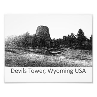 Devils Tower National Monument Photographic Print