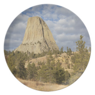 Devils Tower National Monument Plate