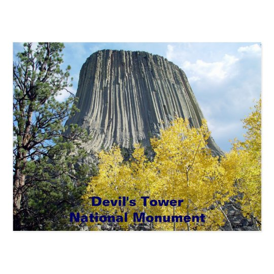 Devil's Tower National Monument Postcard