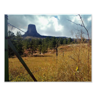 Devils Tower National Monument Wyoming Art Photo