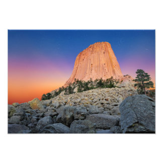 Devils Tower National Monument, Wyoming USA Photo