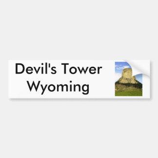 Devil's Tower, Wyoming Bumper Sticker