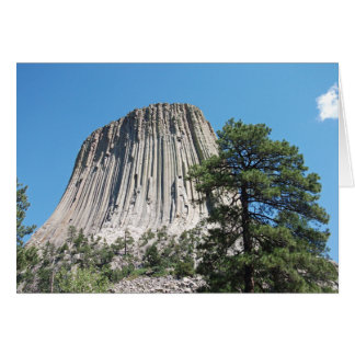 Devils Tower, Wyoming Greeting Card