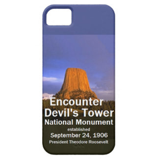 Devil's Tower WYOMING iPhone 5 Covers