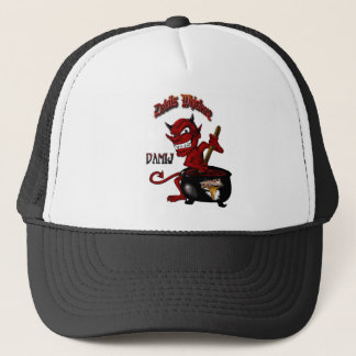 Devils Whiskey  Hat Black