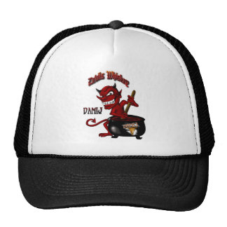 Devils Whiskey  Hat Black