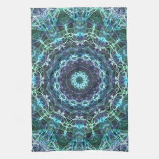 devine mandala tea towel