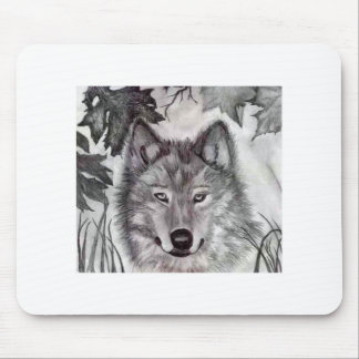 Devin's Wolf Mouse Mat