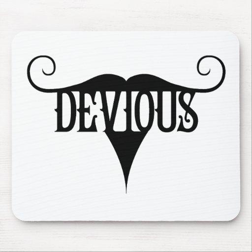 Devious Moustache Mousepads
