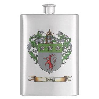 Devitt shield of Arms Flask
