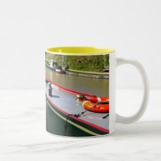Devizes Canal Two-Tone Mug