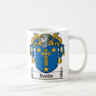 Devlin Family Crest Coffee Mug
