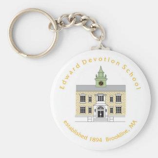 devo school keychain