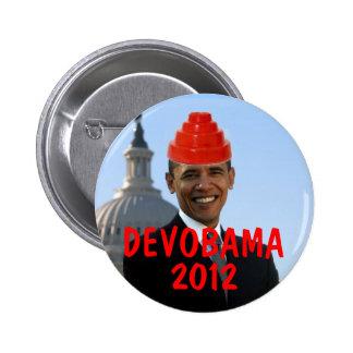 DEVOBAMA 2012 BUTTONS