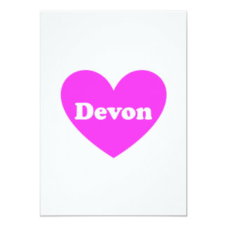 Devon 13 Cm X 18 Cm Invitation Card
