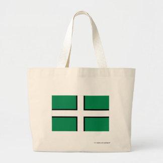 Devon Flag Jumbo Tote Bag