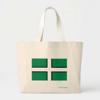 Devon Flag Large Tote Bag