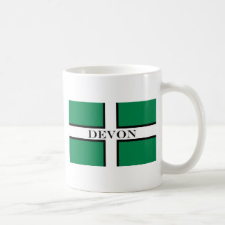 Devon flag coffee mugs