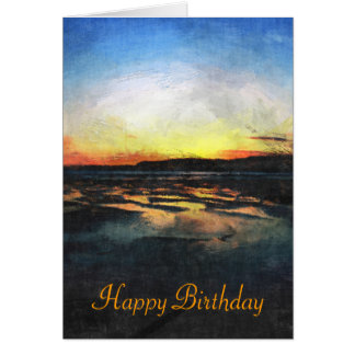 Devon Sunset Card