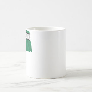 Devon Waving Flag with Name Coffee Mug