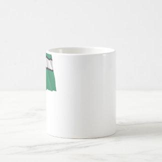 Devon Waving Flag with Name Coffee Mug