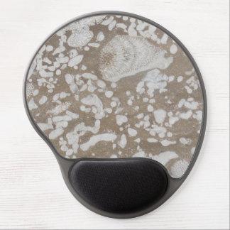 Devonian Fossil Brown & White Gel Mousepad