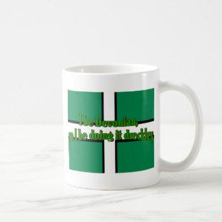Devonians Be Doing It Dreckley Basic White Mug