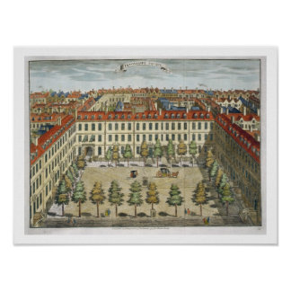 Devonshire Square, for 'Stow's Survey of London', Print