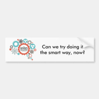 DevOps Collective Snarky Sticker Bumper Sticker