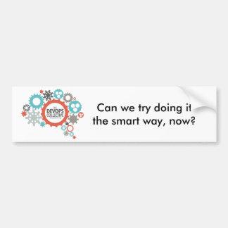DevOps Collective Snarky Sticker Bumper Sticker