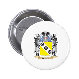 Devos Coat of Arms - Family Crest 6 Cm Round Badge