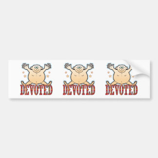 Devoted Fat Man Bumper Sticker